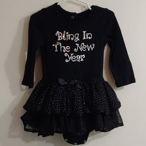 Bling in the new year dress
